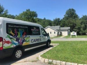 CARES Recovery Hot Spot van